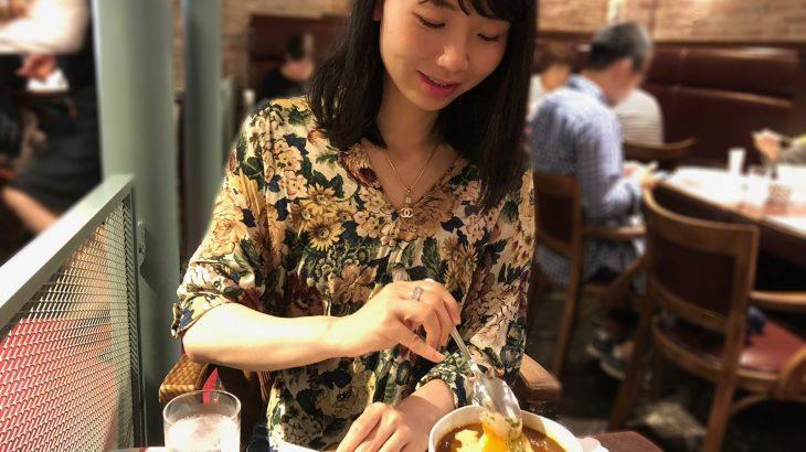 元町商店街の有名店・霧笛楼カフェでフランスカレーと雑炊カラーランチ