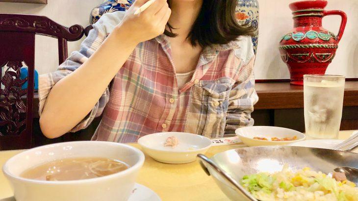 手抜き過ぎ?フカヒレの無駄使い。横浜中華街メインストリートの福臨閣