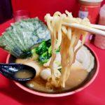 横濱家系ラーメン勝鬨家!濃厚とんこつスープ!パンチきいてますね