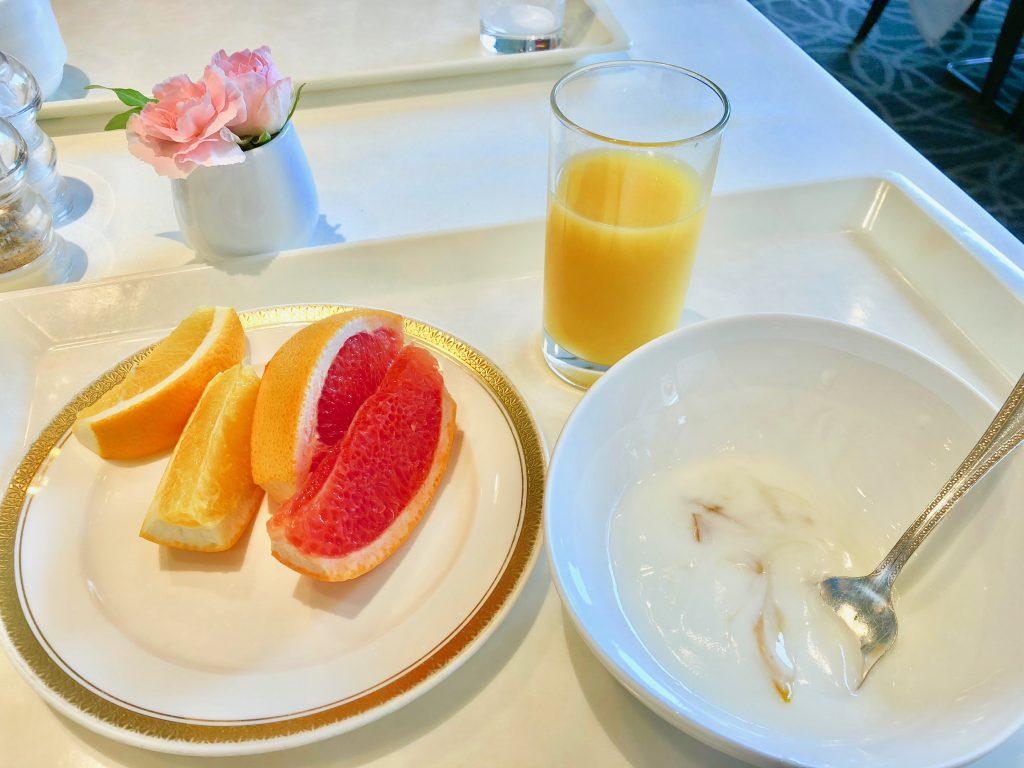 ホテル横浜ガーデン朝食バイキング