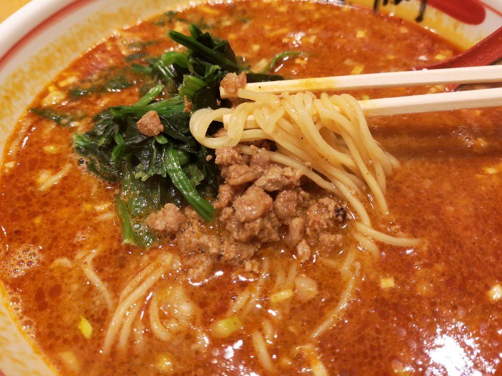 横浜ポルタ匠【担々麺の麺】
