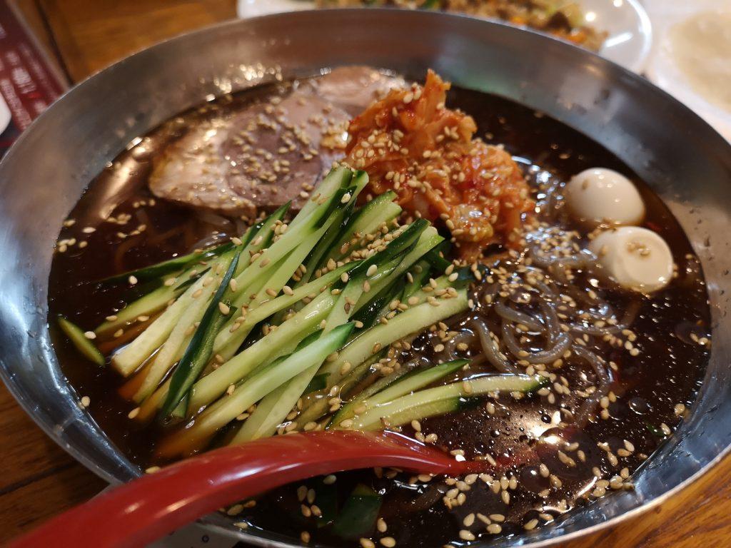 東北人家の冷麺