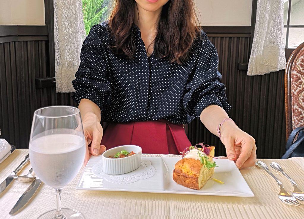 横浜・山手十番館の前菜