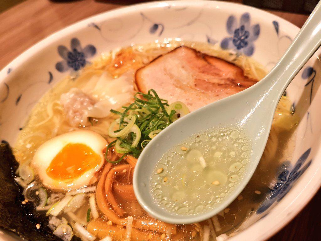 関内駅セルテ内ラーメン横丁『雄』スープ