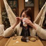 横浜中華街チャイティーカフェのハンモックでカフェ