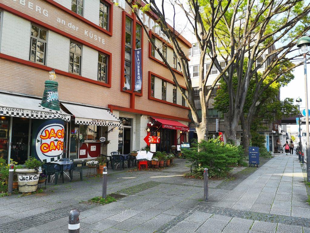大さん橋のふもとのカフェJack-Cafe