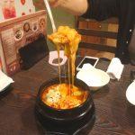 関内ソクチョサムゲタンのチーズトッポキ