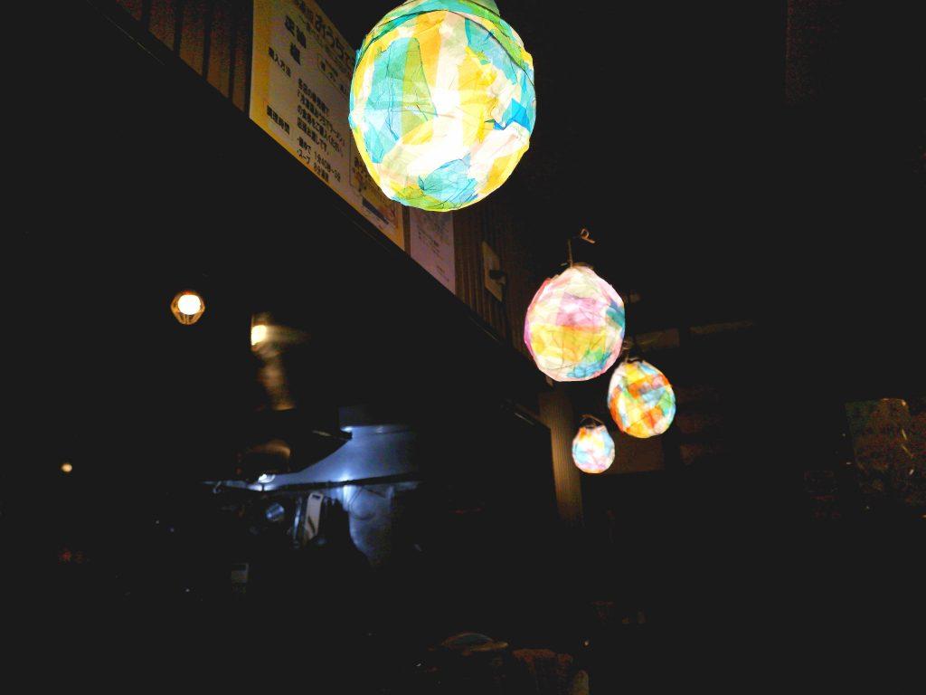 G麺7の照明