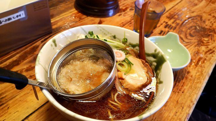 上大岡G麺7の和な醤油スープとストレート麺に衝撃を受けました