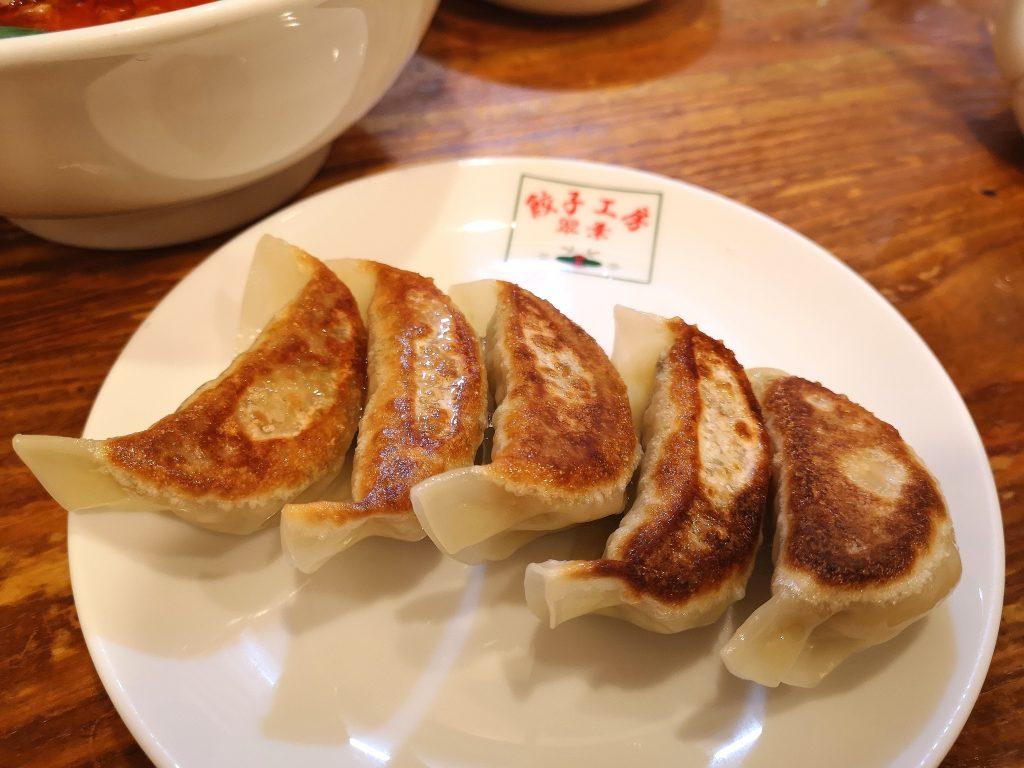 翠葉桜木町店の焼き餃子