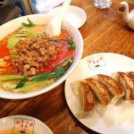 餃子の翠葉桜木町店でパリッとジューシーな餃子をいただきました!