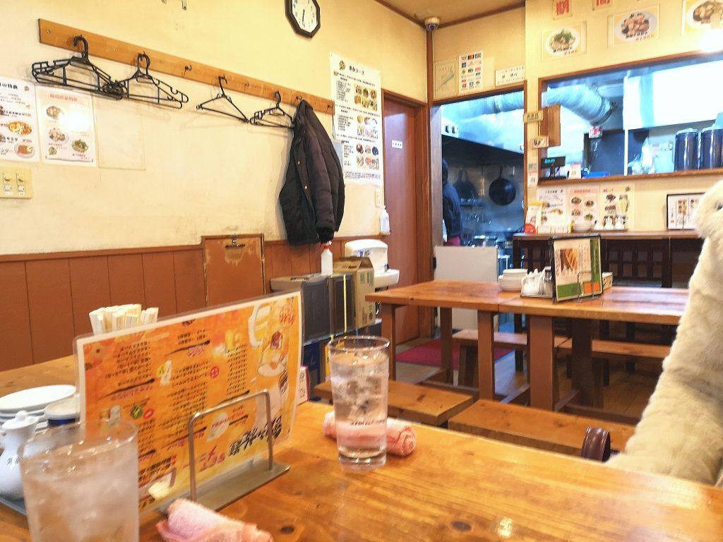 翠葉桜木町店の店内